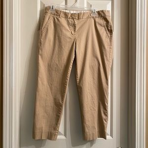 J. CREW Petite Skimmer Pants